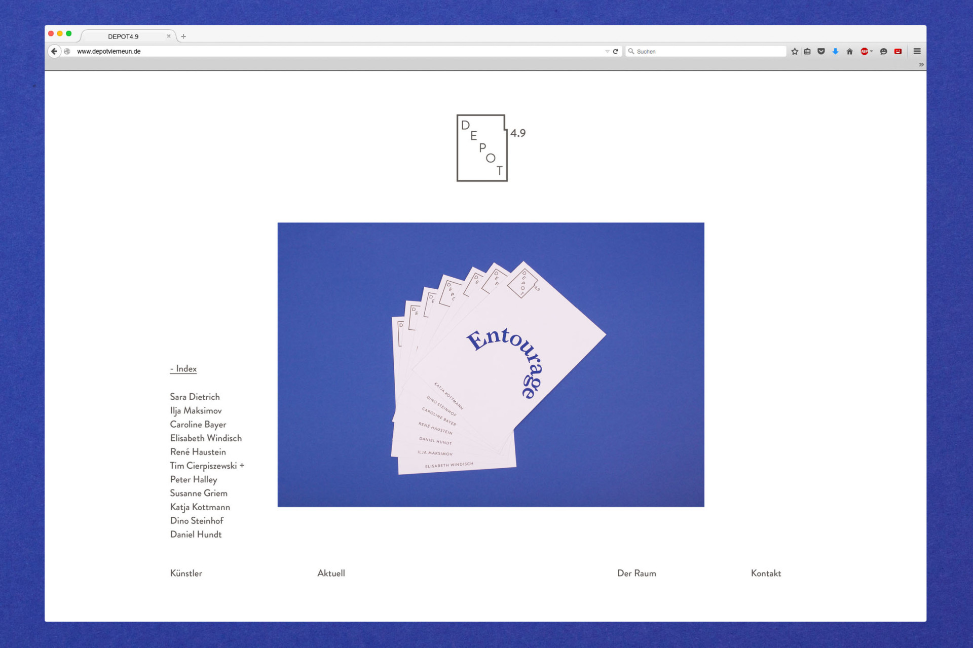 Amélie Graef – Graphicdesign & Art Direction DEPOT4.9