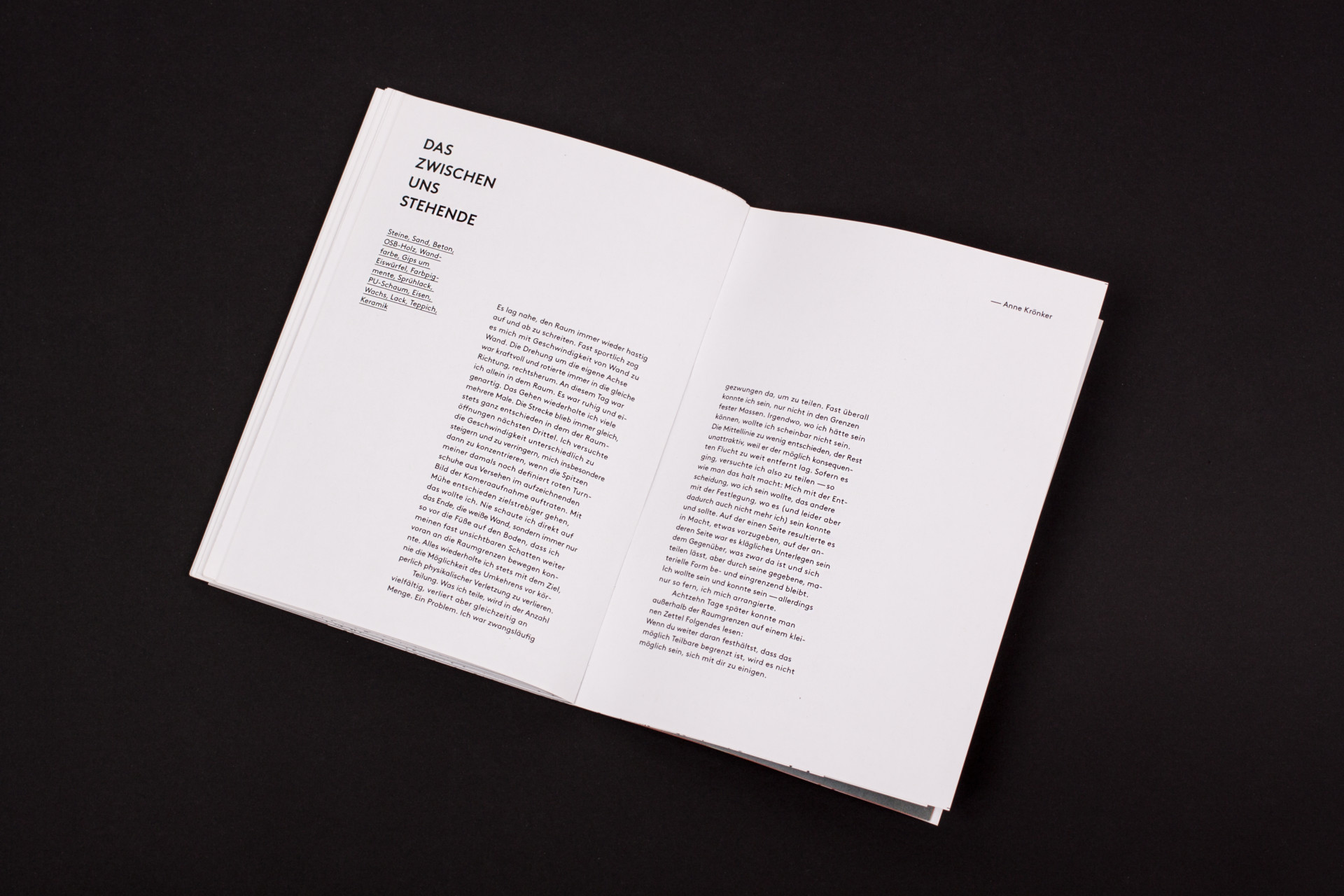 Amélie Graef – Graphicdesign & Art Direction Examenskatalog