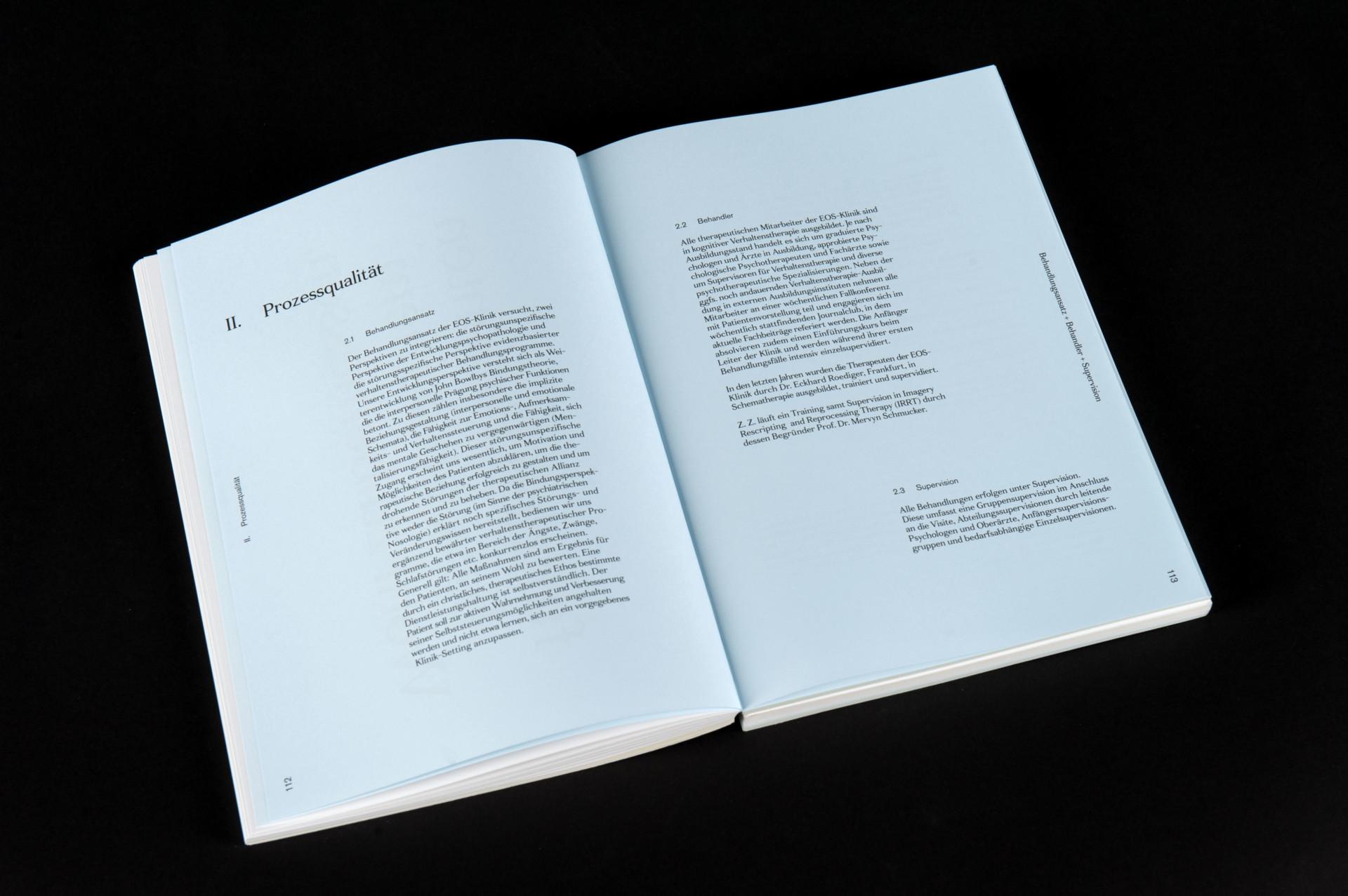 Amélie Graef – Graphicdesign & Art Direction EOS Qualitätsbericht
