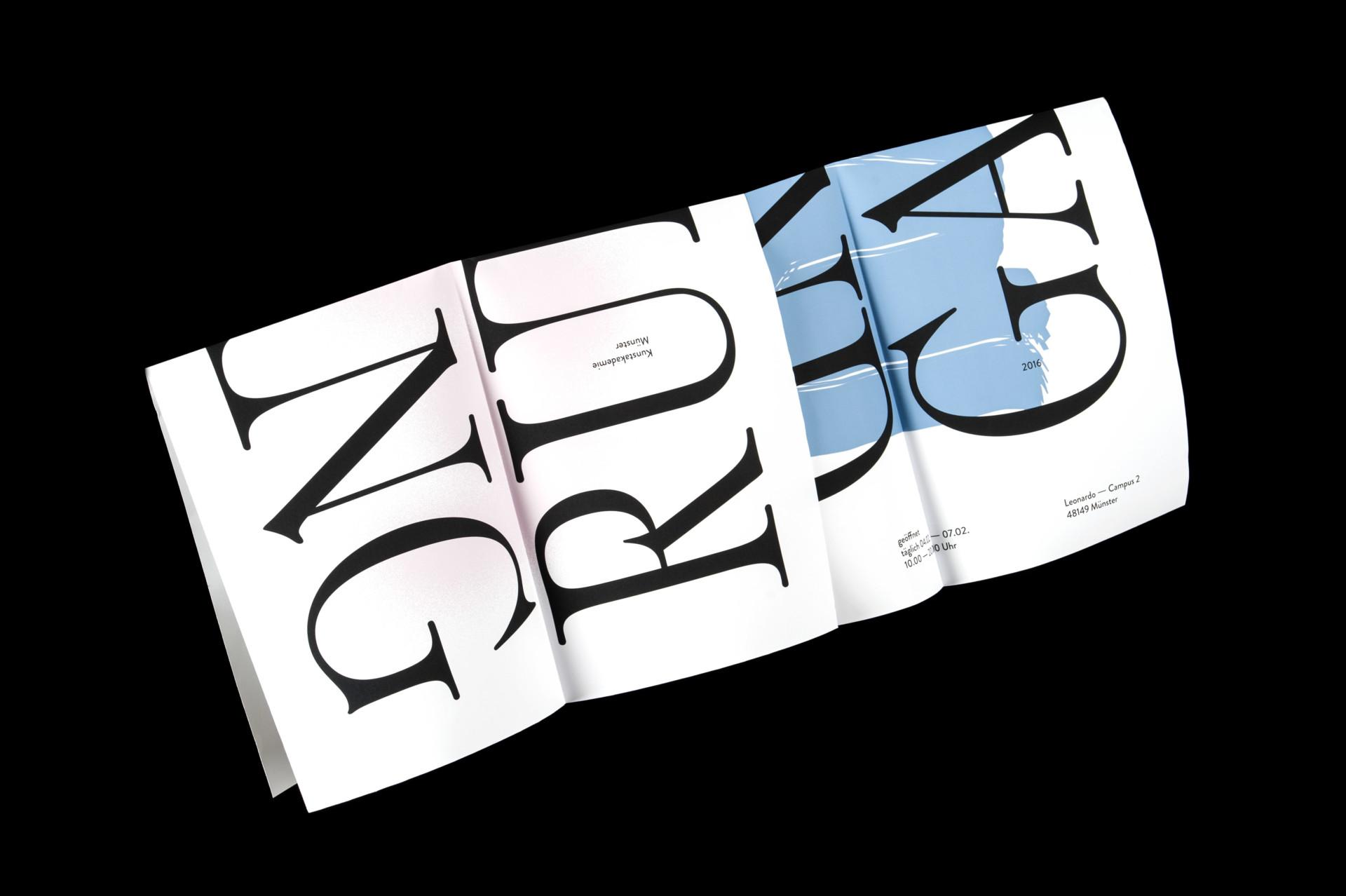 Amélie Graef – Graphicdesign & Art Direction Rundgang 2016