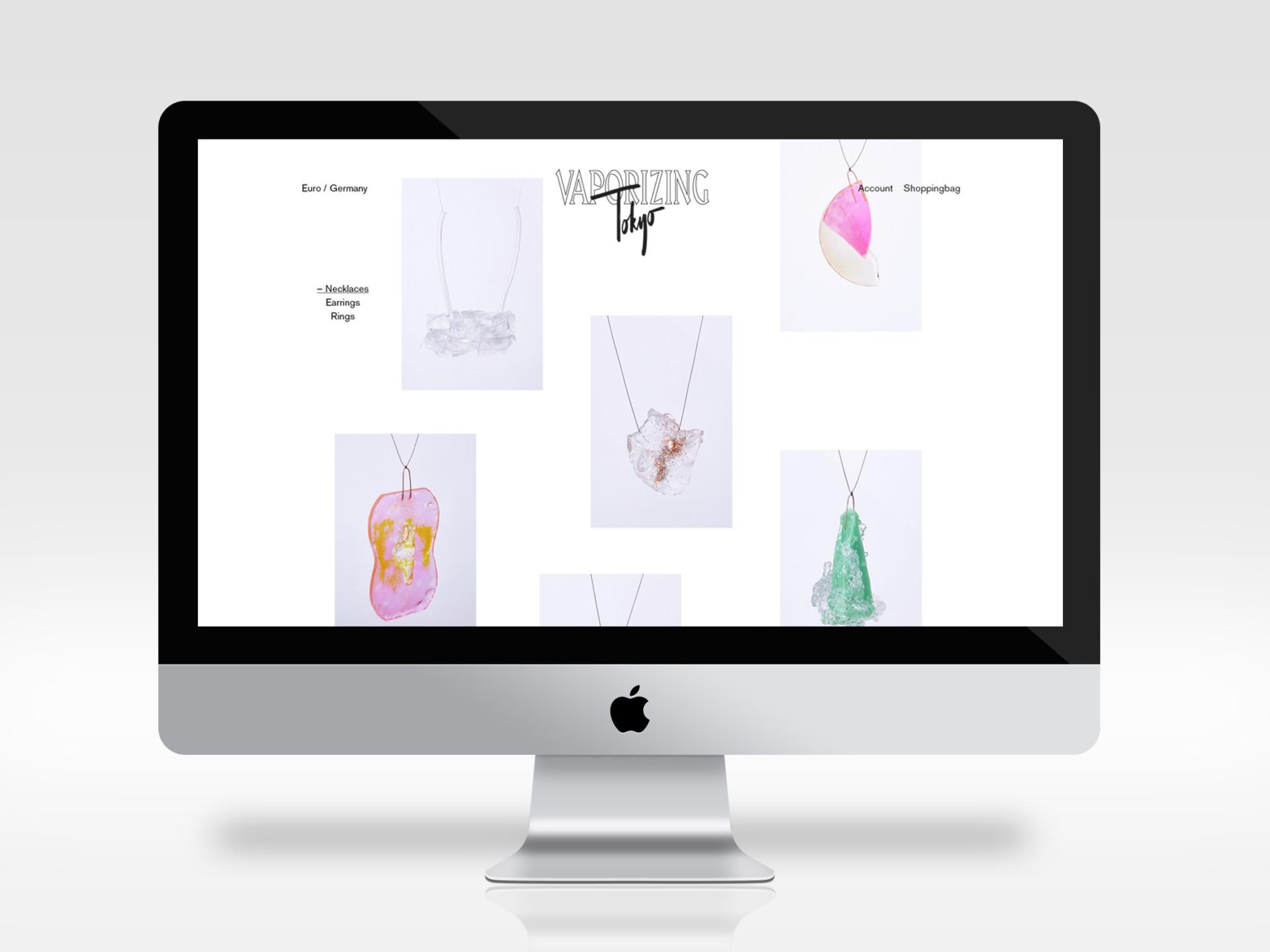 Amélie Graef – Graphicdesign & Art Direction Vaporizing Tokyo